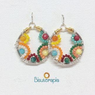 Pendientes Macedonia Bisuterapia